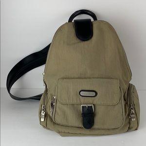 Baggallini Beige Nylon Backpack